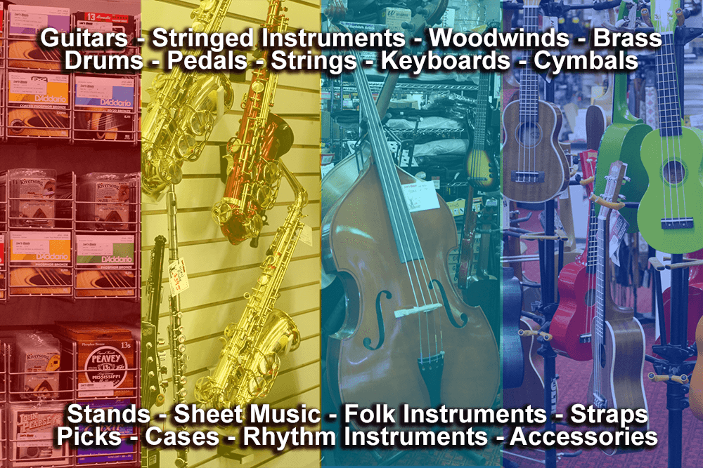 Lee's Music - instruments