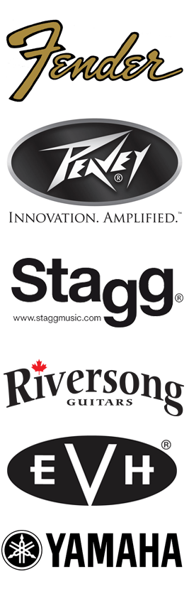 Lee's Music brands logos