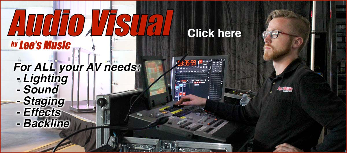 Audio Visual Services by Lee's Music kamloops