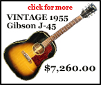 Vintage 1955 Gibson J-45 guitar for sale!