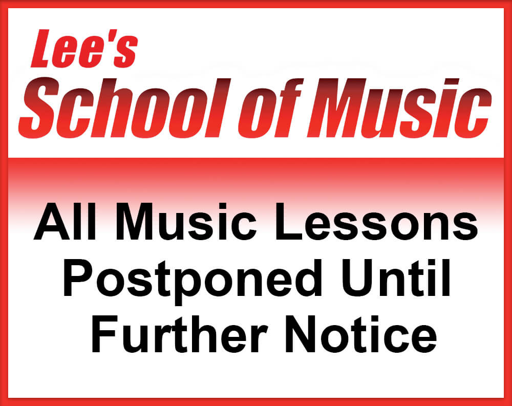 Lees Music lessons postponed